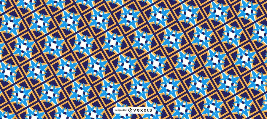 Patrón de Ramadán Kareem árabe
