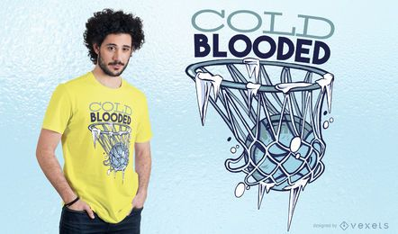 Cold Blooded T-shirt Design
