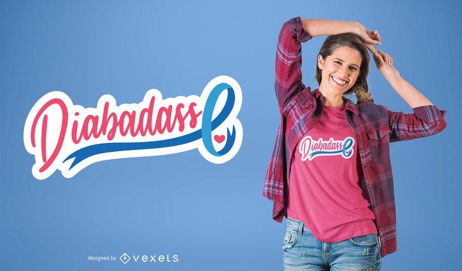Diabadass design de t-shirt