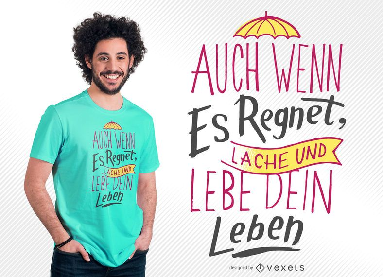 Viva seu projeto do t-shirt da vida