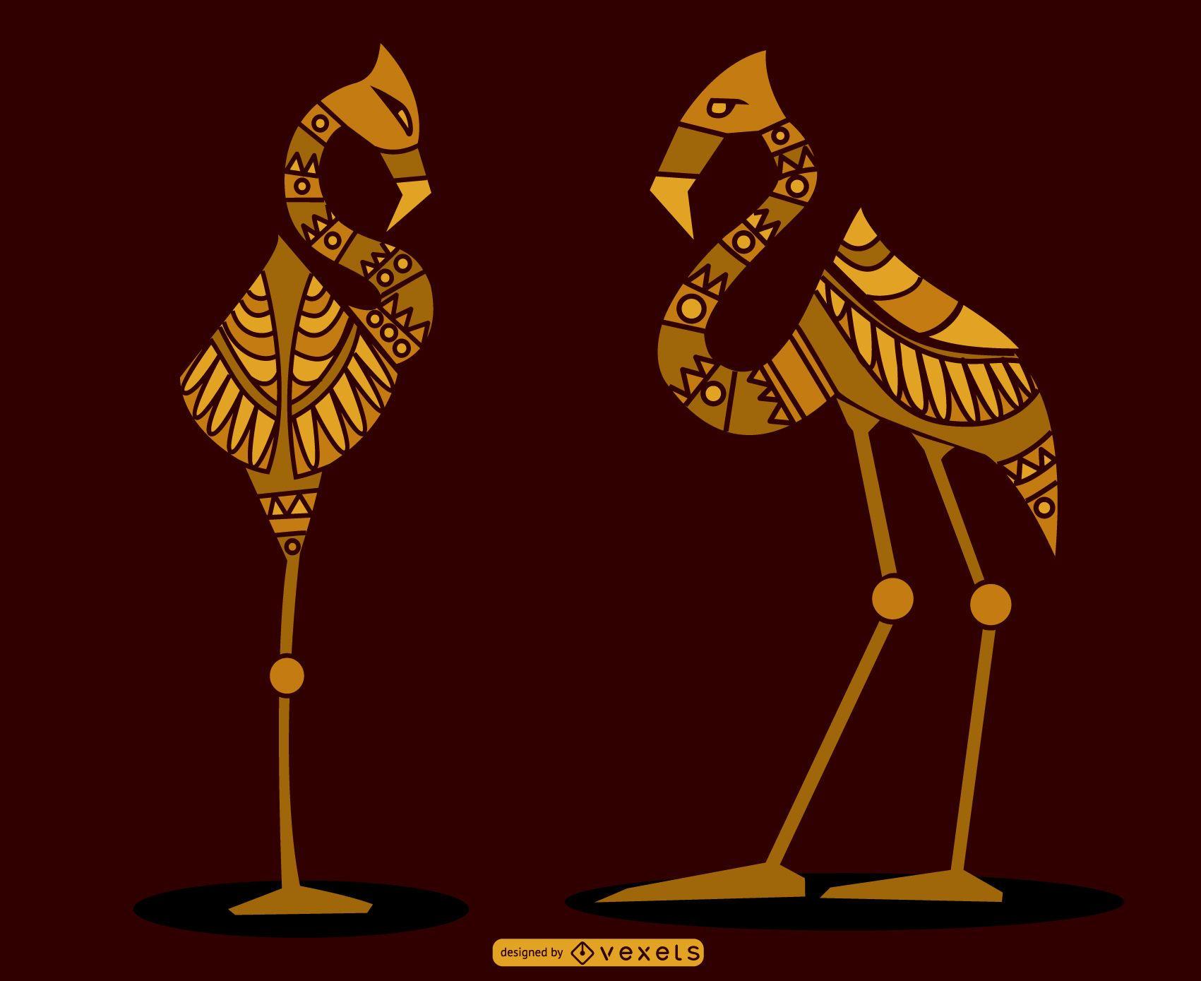 Egyptian Flamingos