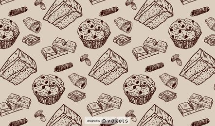 Bakery Stroke Pattern