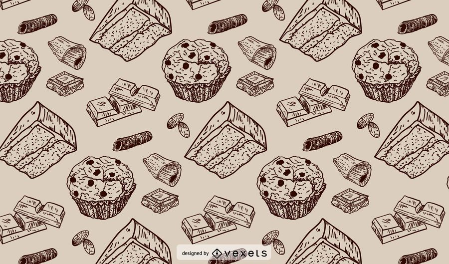 Bäckerei Strichmuster