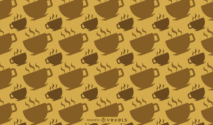 Hot Coffee Cup Pattern