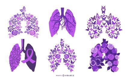 Cystic Fibrosis Awareness Vector Design