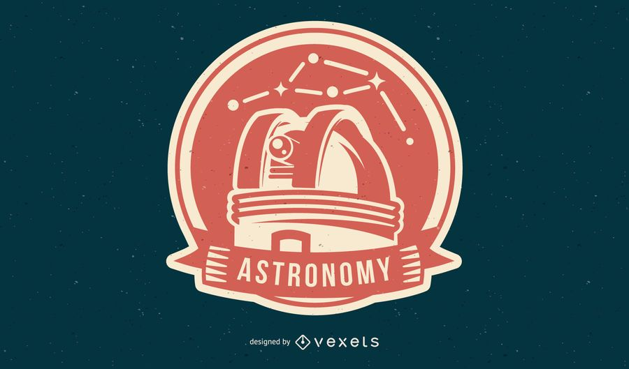 Astronomy space badge