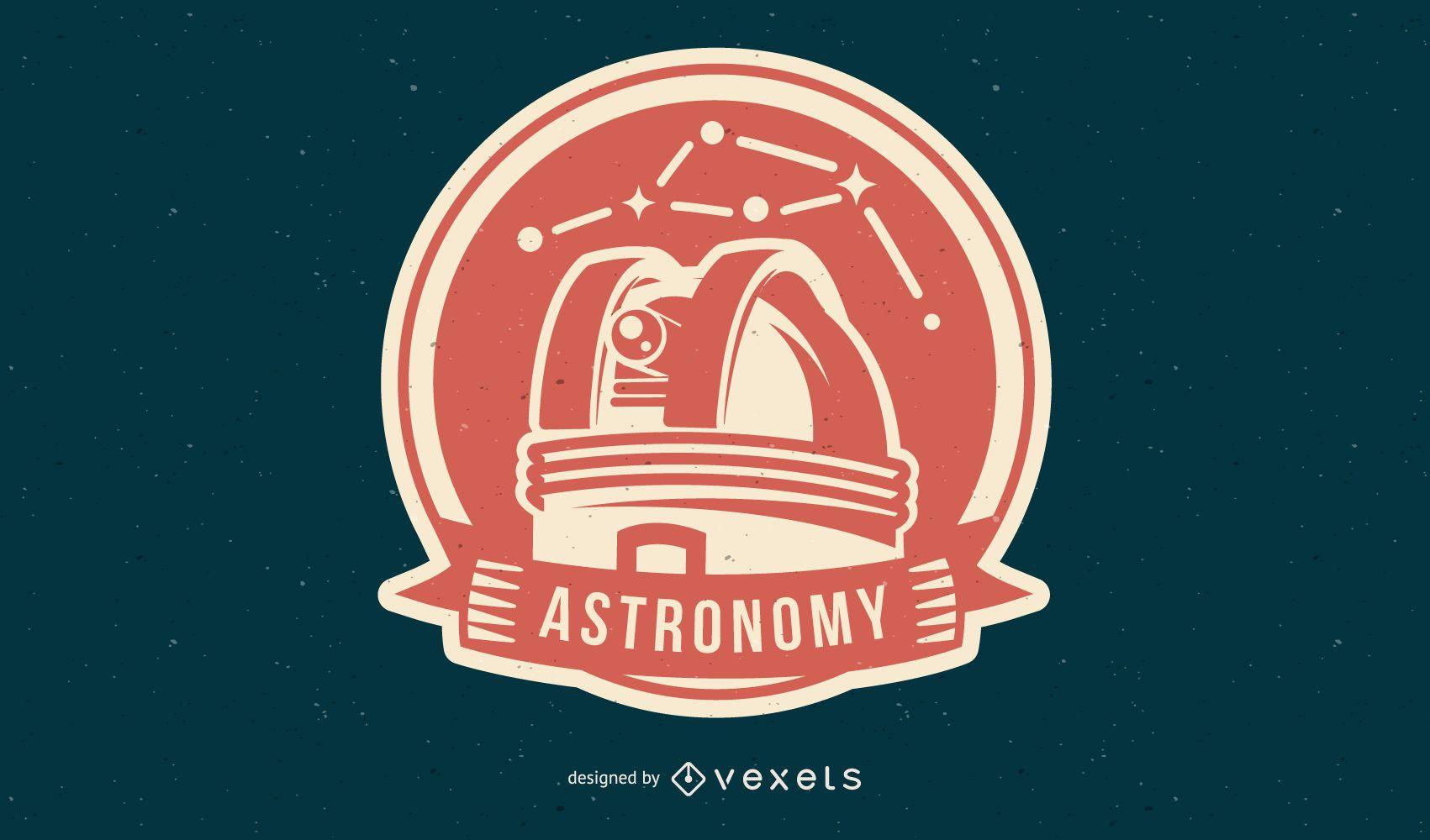Insignia espacial de astronomía