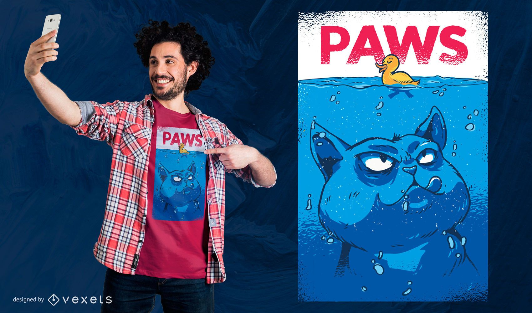Paws T-shirt Design