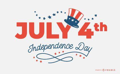 4. Juli Independence Day Design