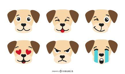 Colección Emoji Perro