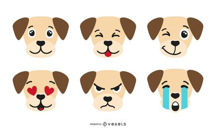 Dog Emoji Collection