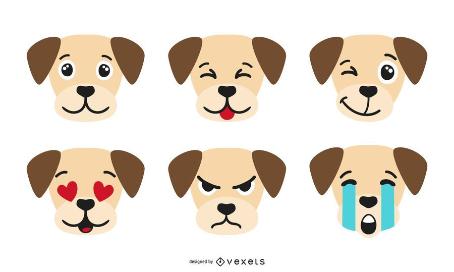 Dog Emoji Collection