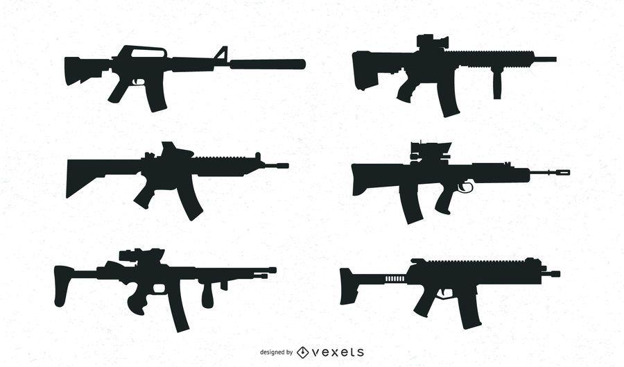 Colección Guns Silhouette