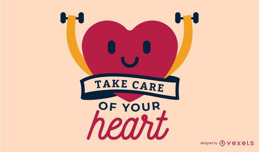 Cuida tu ilustración del corazón