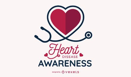 Heart Disease Awareness Design