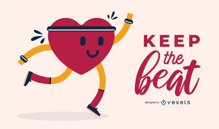 Keep the Beat Illustration