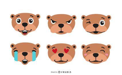 Juego de Emojis de Marmota