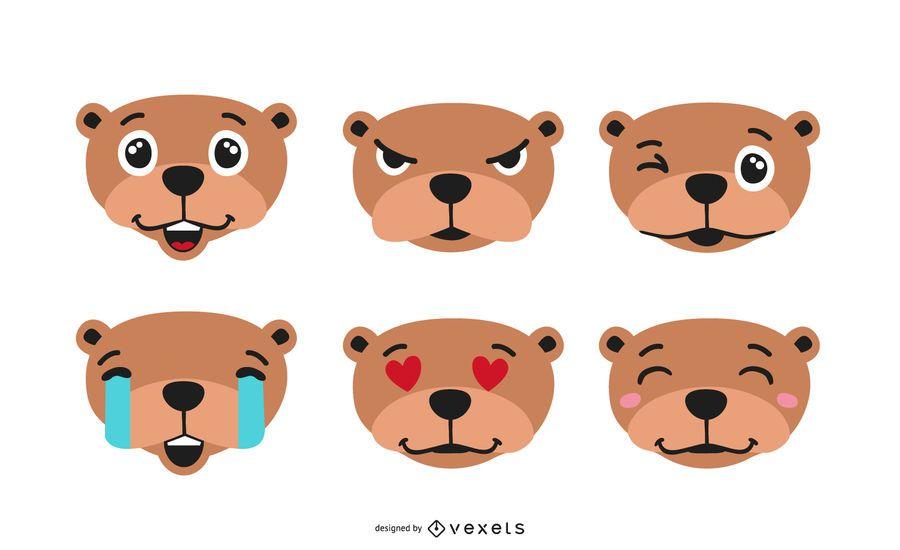 Groundhog Emoji Set