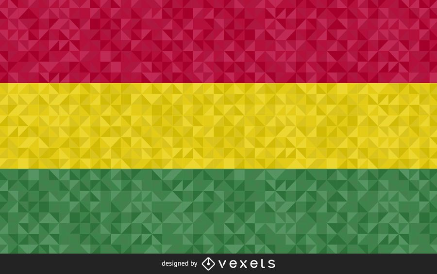 Design de vetor abstrato bandeira