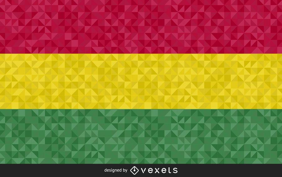 Resumen bandera de diseño vectorial
