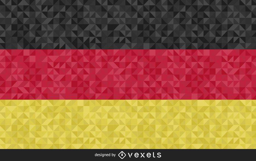 Flag of Germany Abstract Design