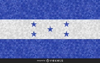 Flag of Honduras Abstract Design