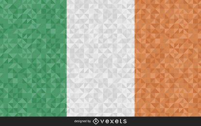 Flagge von Irland-Zusammenfassungs-Design