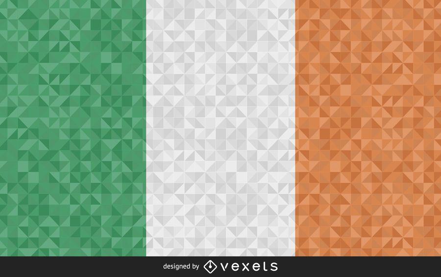 Bandera de Irlanda Resumen Diseño