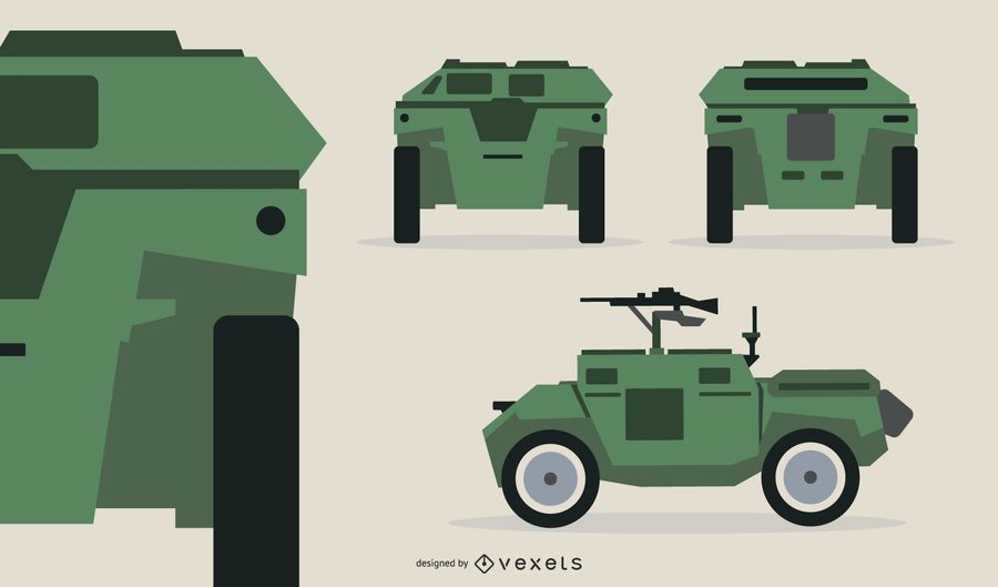 Compact Tank Gun Illustration