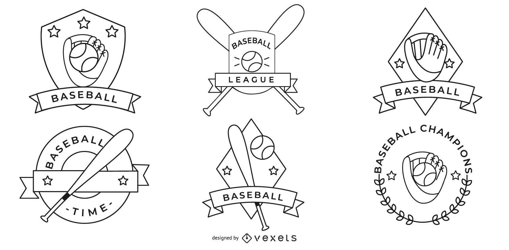 Baseball Badges Collection