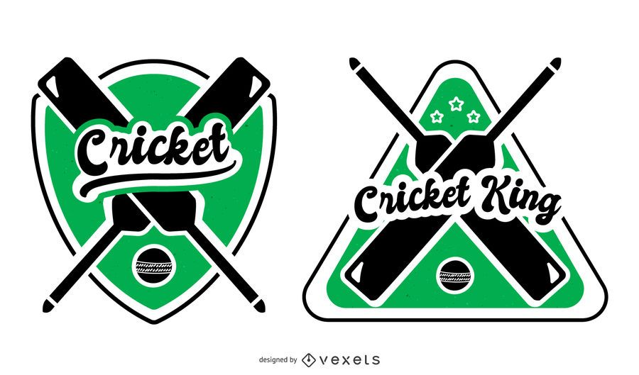 Ilustração de rei de críquete