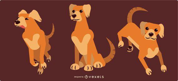 Posições do cão