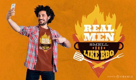 Real Men T-shirt Design