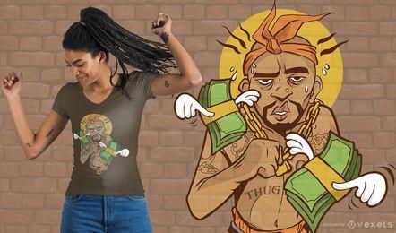 Thug Guy T-Shirt Design