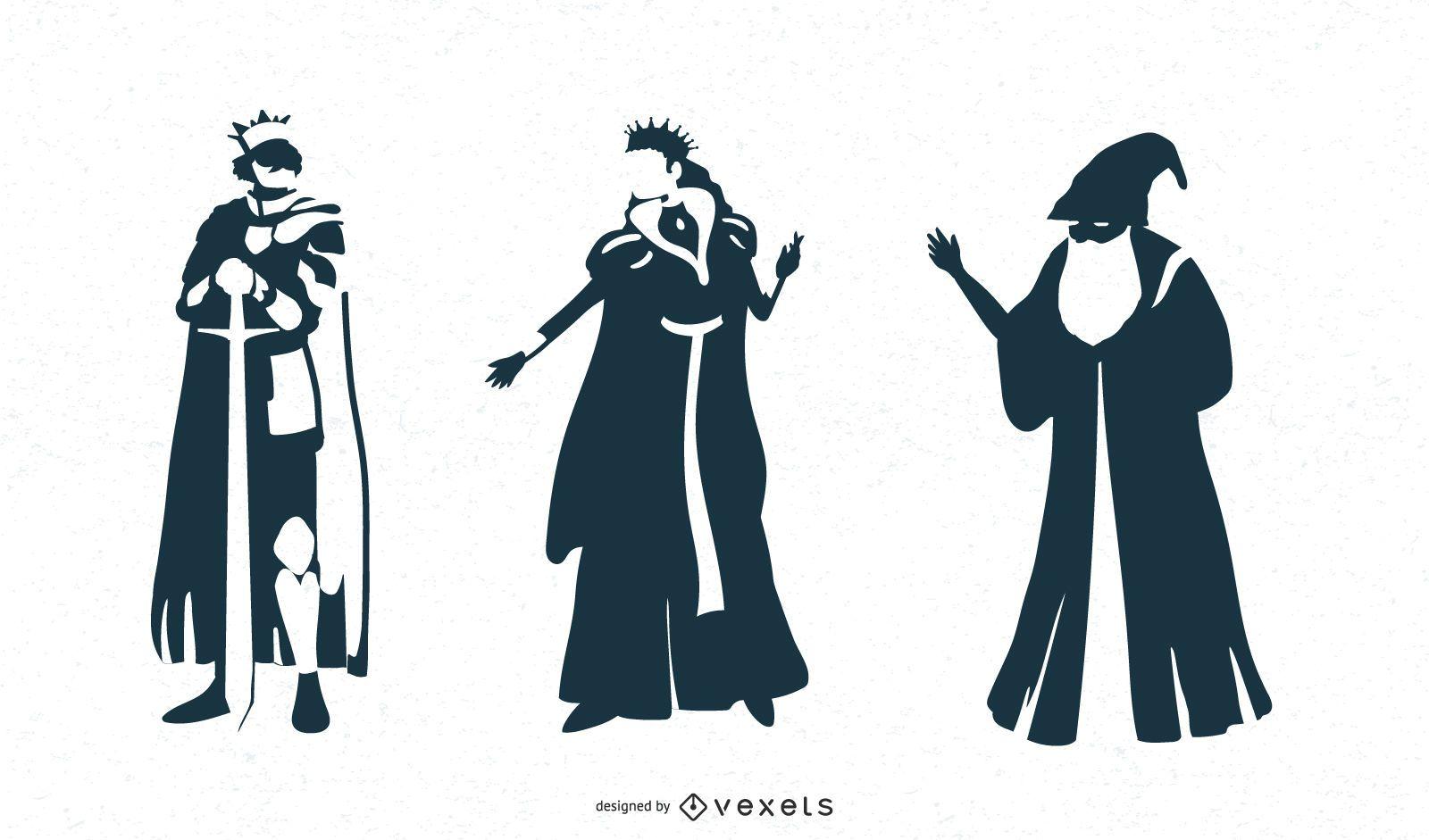 Diseños de personajes de fantasía