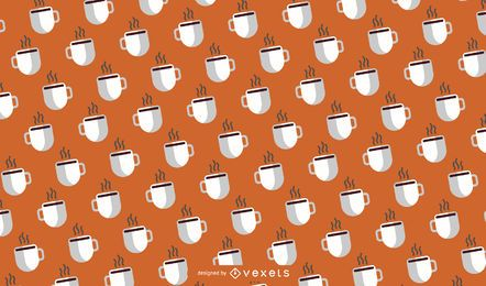 Coffee Mug Pattern Design