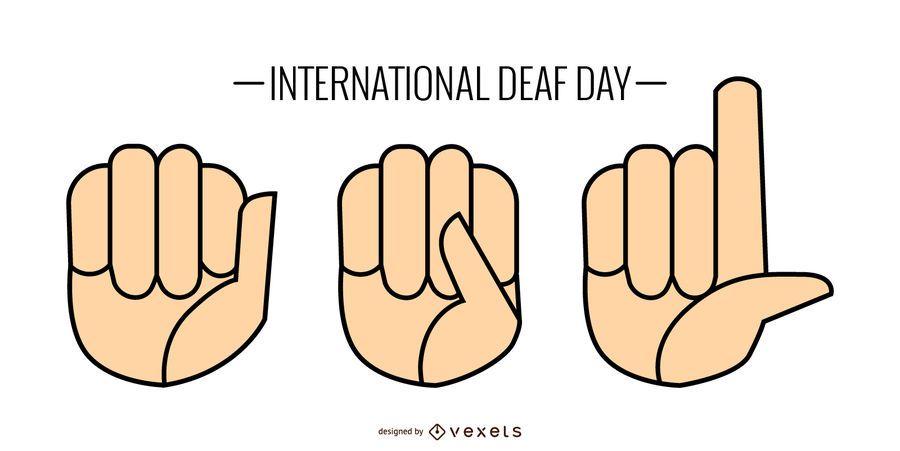 Sign Language Set
