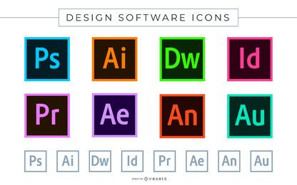 Ícones de Software Adobe