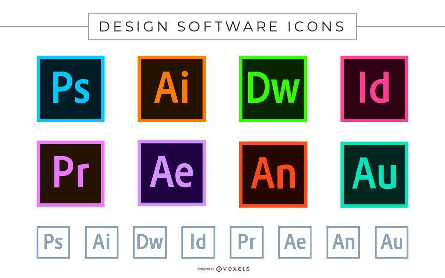 Ícones de Software Adobe