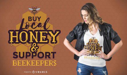 Diseño de la camiseta de los apicultores