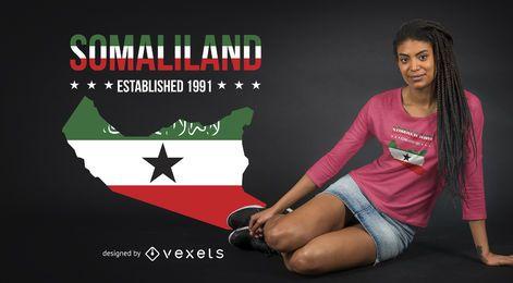 Diseño de camiseta de Somalilandia
