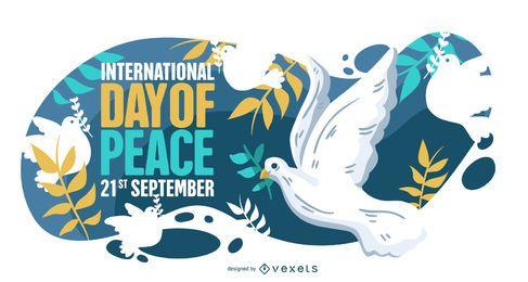Internationaler Tag des Friedens Illustration