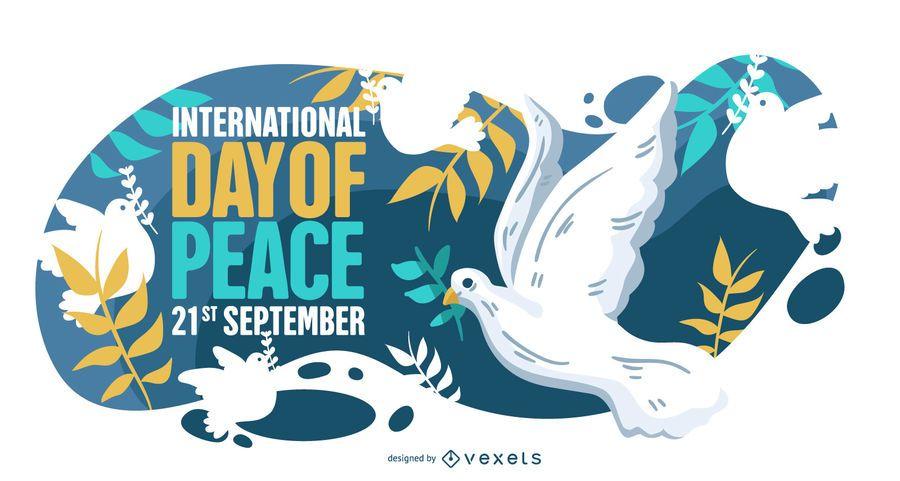 Ilustração do Dia Internacional da Paz