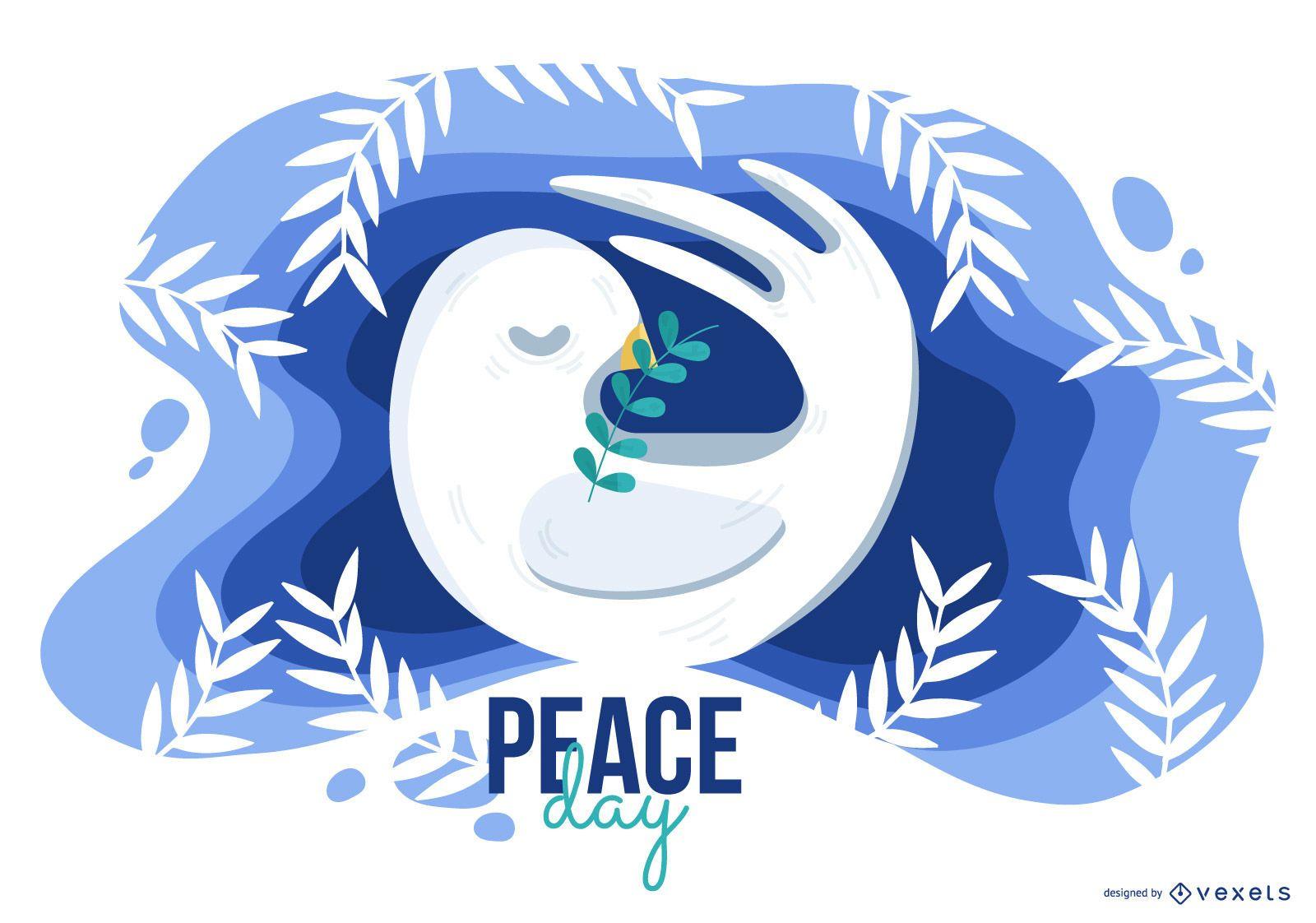 Peace Day Illustration