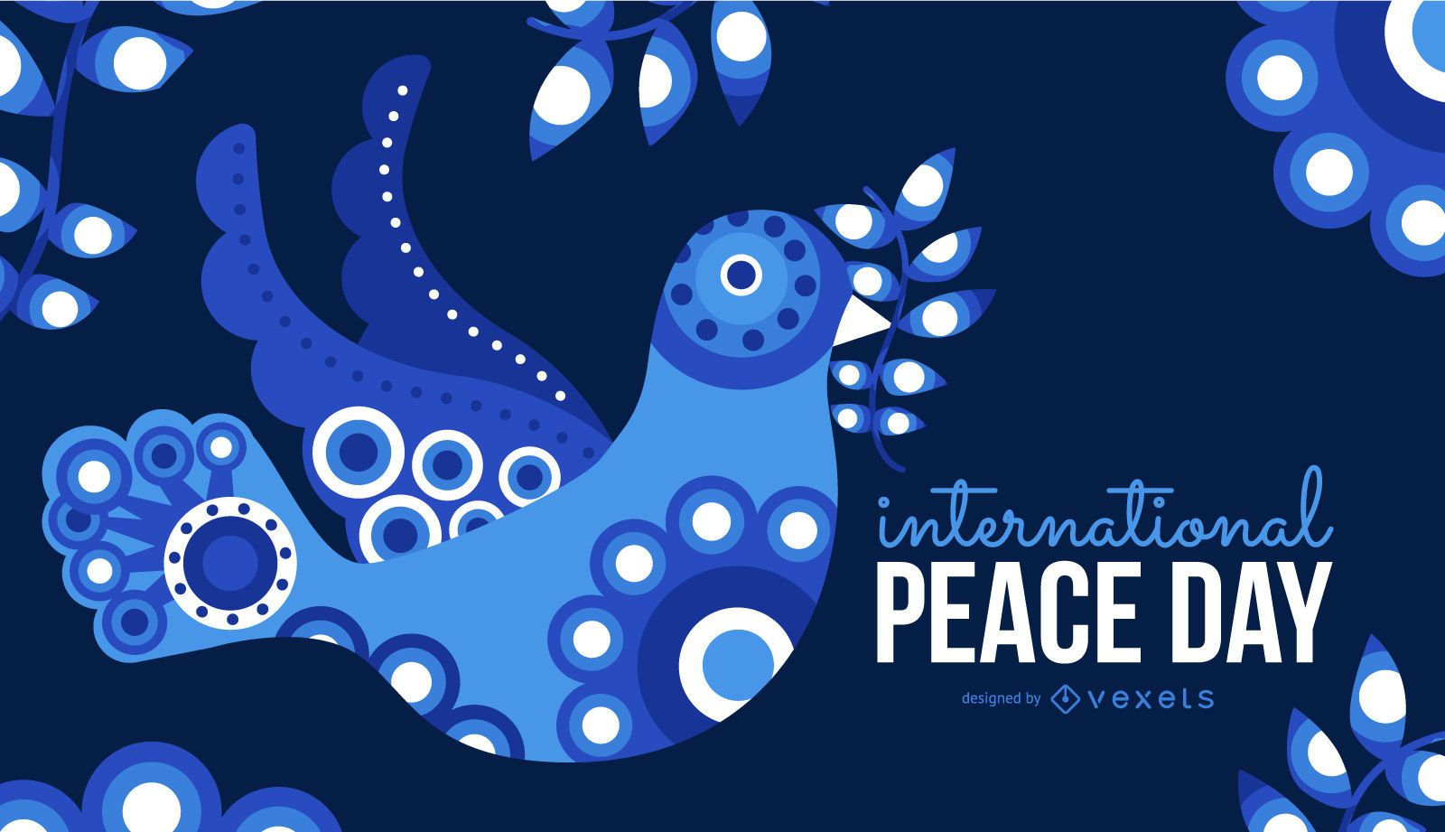 International Peace Day Vector Graphic