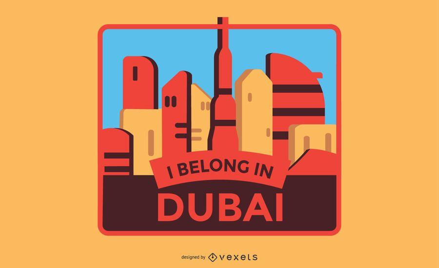 Dubai Label Design