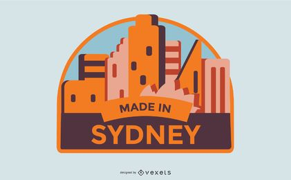 Made in Sydney Label Design