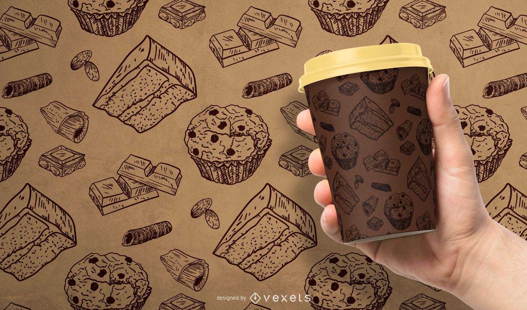 Chocolate pattern design