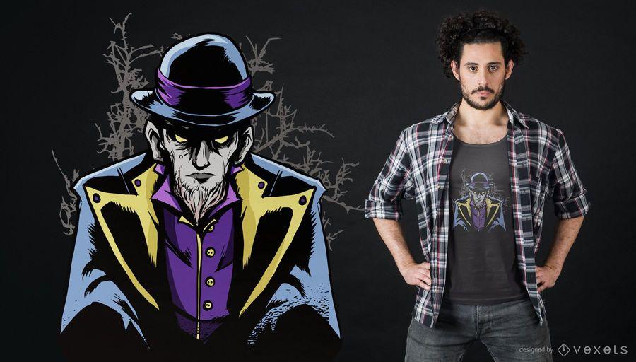 Dark Warlock T-shirt Design