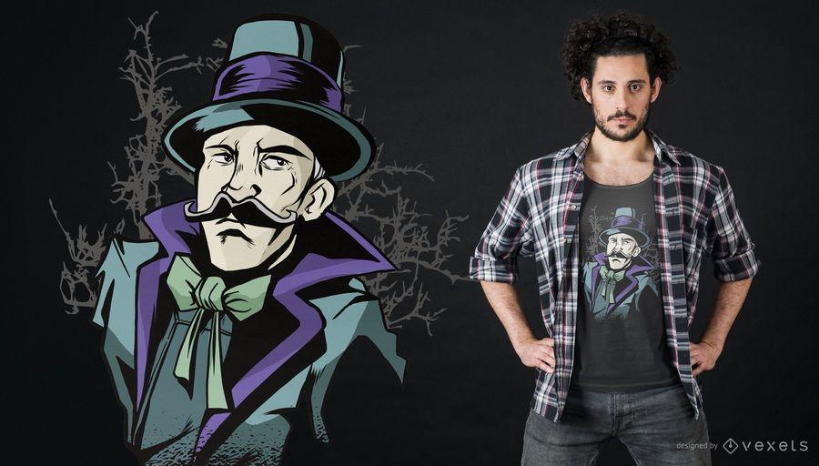 Magician T-shirt Design